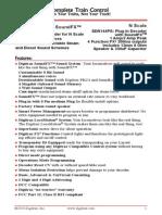 Digitrax SDN144PS Decoder Manual