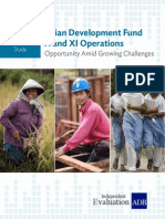 Corporate Evaluation Study on Asian Development Fund X and XI Operations