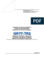 Manual Regulador de Tensão Grt7 Tr2