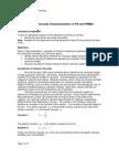 Intrinsic Viscosity Characterization