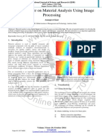 Material Analysis Using Image Processing