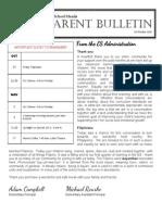 ES Parent Bulletin Vol#6 2015 October 23