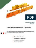 Planificacion estratégica conceptos Básicos