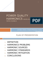 Power Quality Harmonics