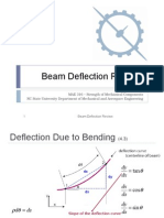 Beam Deflection
