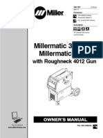 Owners Manual - Miller 350P With Roughneck 4012 Gun