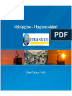 Nickel Pig Iron Long Term Solutions(1)