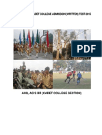 Syllabus of Cadet College in Bangladesh