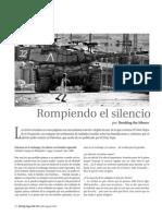 EL VIEJO TOPO_JULIO_AGOSTO_2015_Rompiendo el silencio