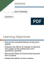 Microeconomics Lecture 4