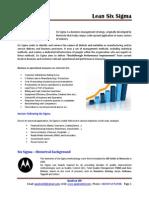 Lean Six Sigma Overview QualConBD