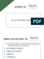 Implantación de Las 5 S en La Empresa