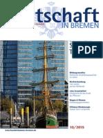 Wirtschaft in Bremen 10/2015 - Tourismus im Land Bremen