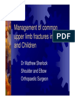 Management of Fractures - Dr Matthew Sherlock