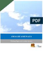 DRAGHI AMENAZA