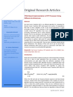 Fpga Based Implementation of Fft Processor Using Different Architectures 2277 1891.1000103