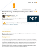 Understanding and Implementing State Pattern in C#