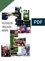 Politicas Con Vinculacion Agraria