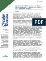 Agrotoxicos No Cultivo Do Arroz No Brasil Analise Do Consumo e Medidas Para Reduzir o Impacto Ambiental Negativo