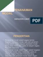 Hukum Penanaman Modal