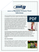 How to Minimize Urinary Tract Infections