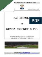 Empoli Genoa Cartellastampa
