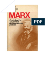 PROLOGO- MARX KARL - Contribucion a La Crítica de La Economia Política.pdf