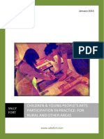 Children & Young People's Arts Participation in Practice