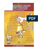 Government Rules Hindu Temples
