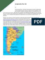 Article   Argentina Reciprocity Fee (2)