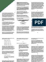 Taxation II Bar Questions 2006 - 2014