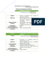 Elaboración y Análisis de Indicadores de Gestión