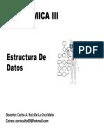 Estructura de Datos Filas