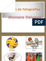 Álbum de Fotografías. Deportes Pptx