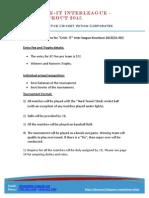 CIL KO Rules & Regulations