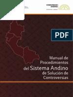 Manual de Procedimientos Del Sistema Andino de Solución de Controversias