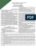 Legea 188 Din 2000 Republicata in MO738din20oct2011