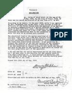 Moray Declaration Harvey Fletcher
