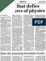Rosemary Ainslie. Pretoria News 2002