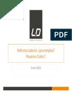 Reforma Laboral 2015 Sindicalizacion