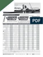 Tarifario Hoteles Buenos Aires - Feriado 02 de Noviembre 2015