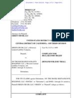 Green Crush v. Crushed Red - restaurants declaratory judgment complaint.pdf