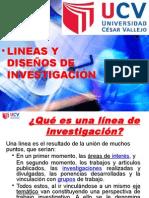Lineas y Diseños de Investigacion
