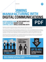 Transforming Manufacturing With Digital Communications