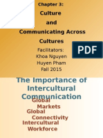 Chapter 3 - Culture and Communication Across Culture