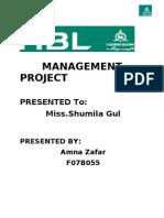 HBL Final Project