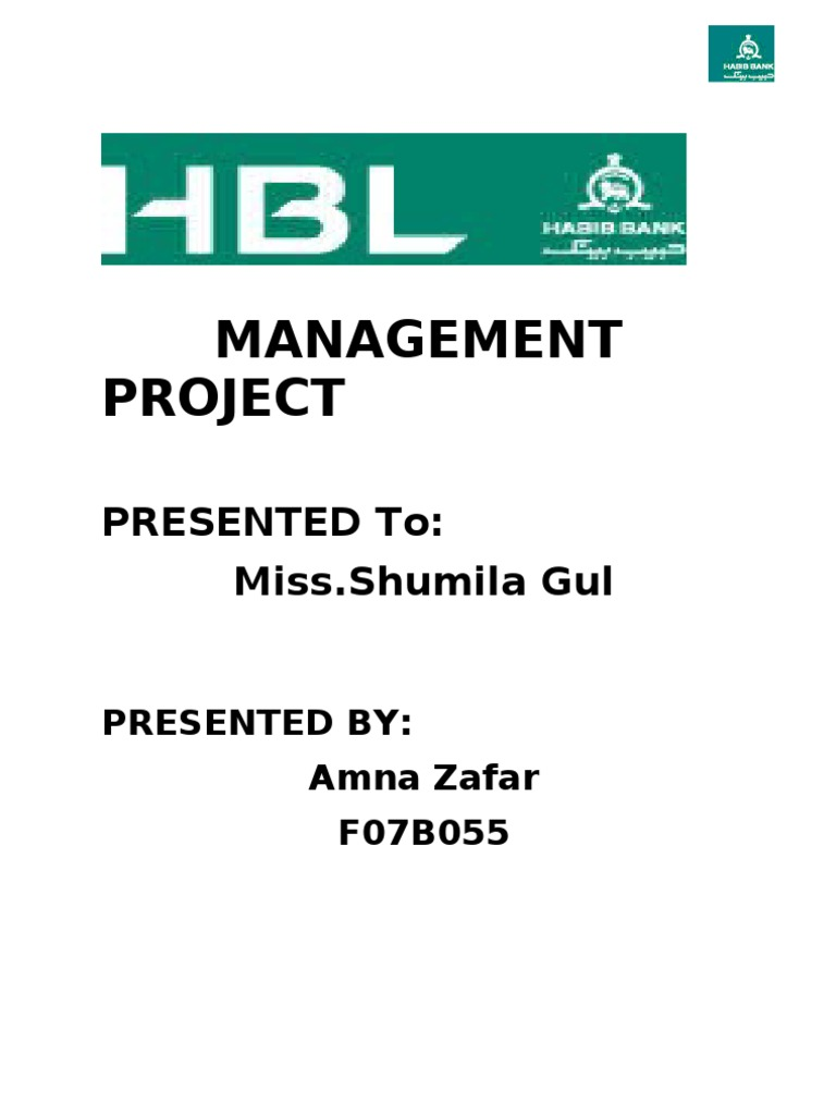 Hbl Final Project Recruitment Muhammad Ali Jinnah