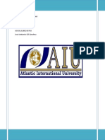 Investment Management, AIU