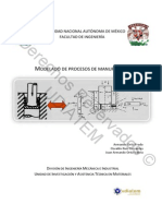 Modelado de procesos de manufactura.