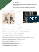 Guia de Trabajo Hechos y Opiniones 5to Basico